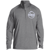 Jackets Charcoal Grey Heather / X-Small Men's Half Zip Raglan Performance Pullover