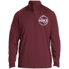 Jackets Maroon / Medium Men's Half Zip Raglan Performance Pullover