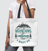 The Mountains are Calling Tote