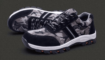 Shoes Army Grey / 42 Indestructible BulletProof Safety Shoes