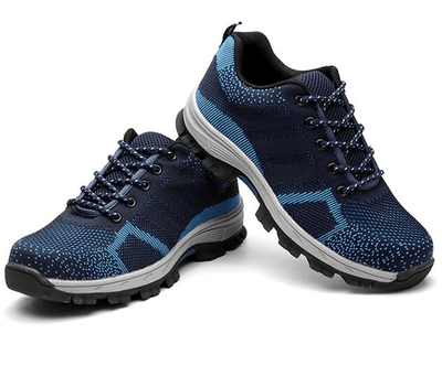 Shoes Blue / 36 Indestructible BulletProof Safety Shoes
