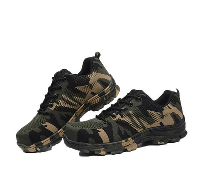 Shoes Camouflage green / 36 Indestructible BulletProof Safety Shoes