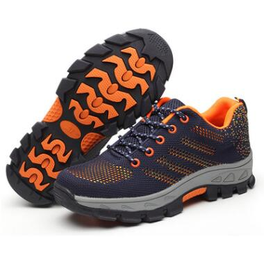 Shoes Orange / 41 Indestructible BulletProof Safety Shoes