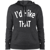 Sweatshirts Graphite Heather / X-Small I'd Hike That Ladies' Pullover Hooded Sweatshirt