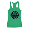 T-shirt Next Level Racerback Tank / Kelly / XS Say YES to Adventure Racerback Tank