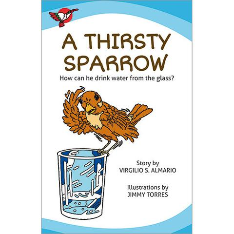 A Thirsty Sparrow - BIG BOOK