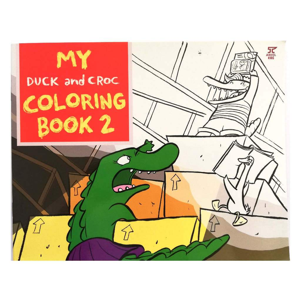 My Duck and Croc Coloring Book 2