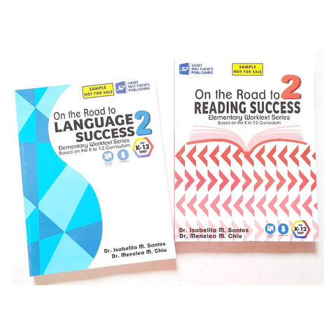 Grade 2 Textbooks (Reading & Language)