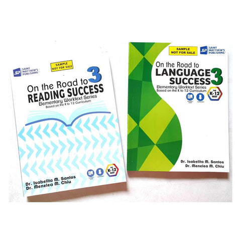 Grade 3 Textbooks (Reading & Language)