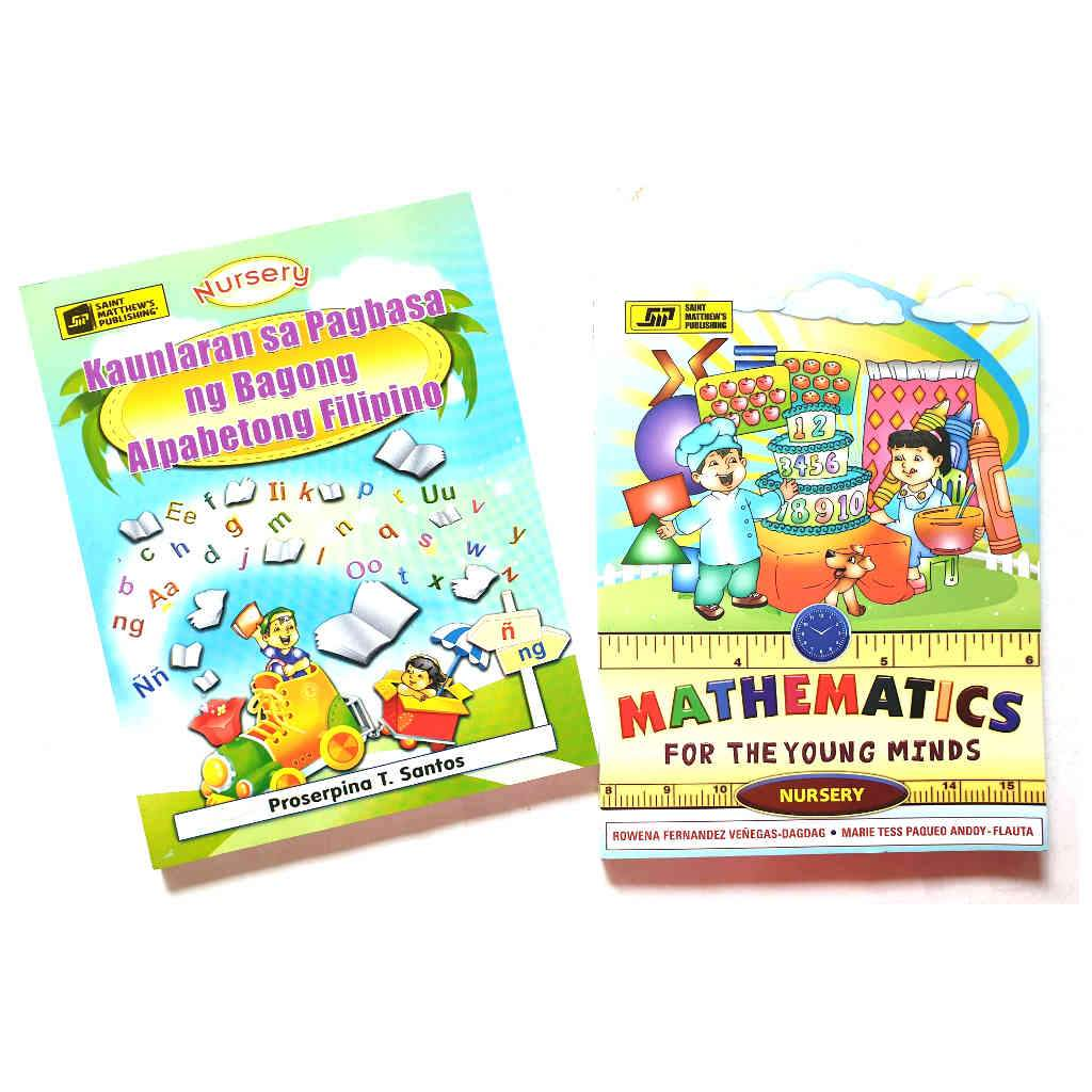 Nursery Textbooks (Math & Filipino)
