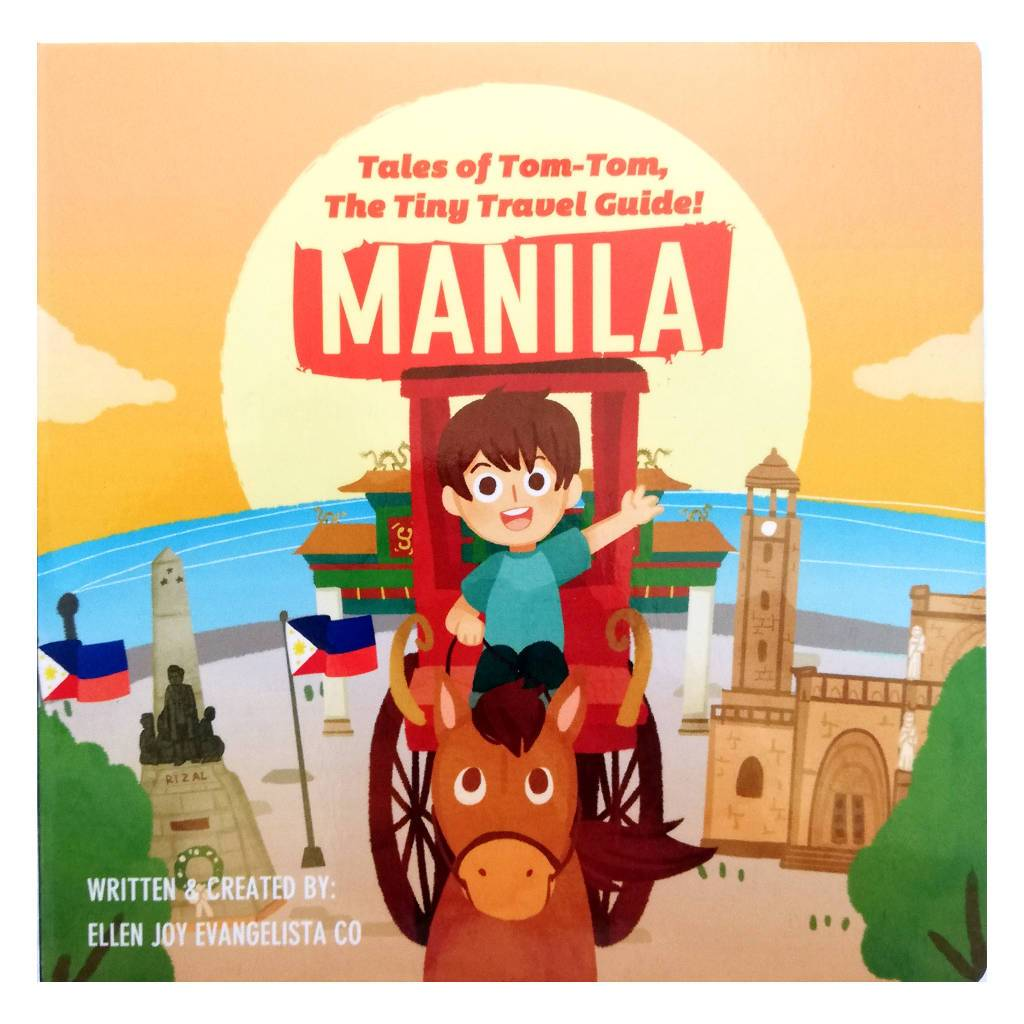 Tales of Tom-Tom, the Tiny Travel Guide! MANILA