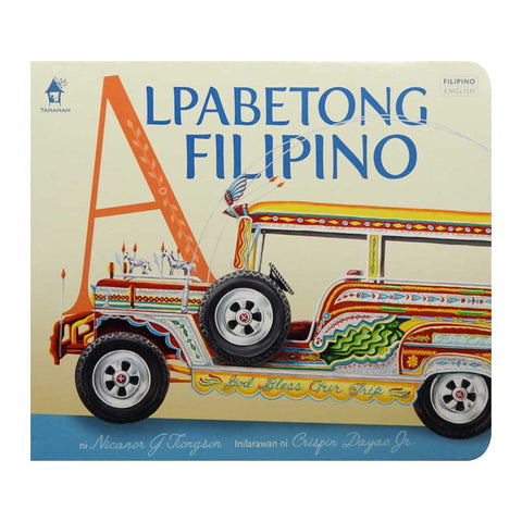 Alpabetong Filipino Board Book