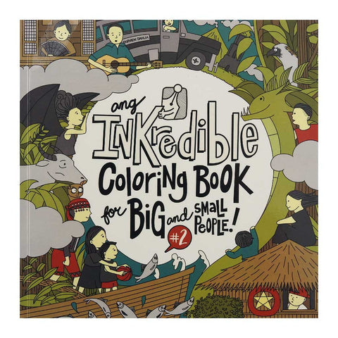 Ang Inkredible Coloring Book for Big and Small People! #2