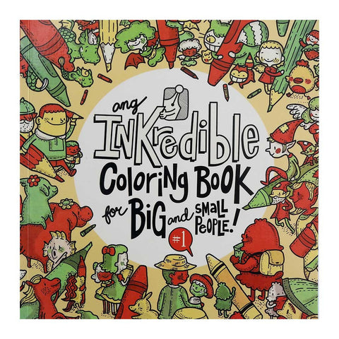 Ang Inkredible Coloring Book for Big and Small People! #1