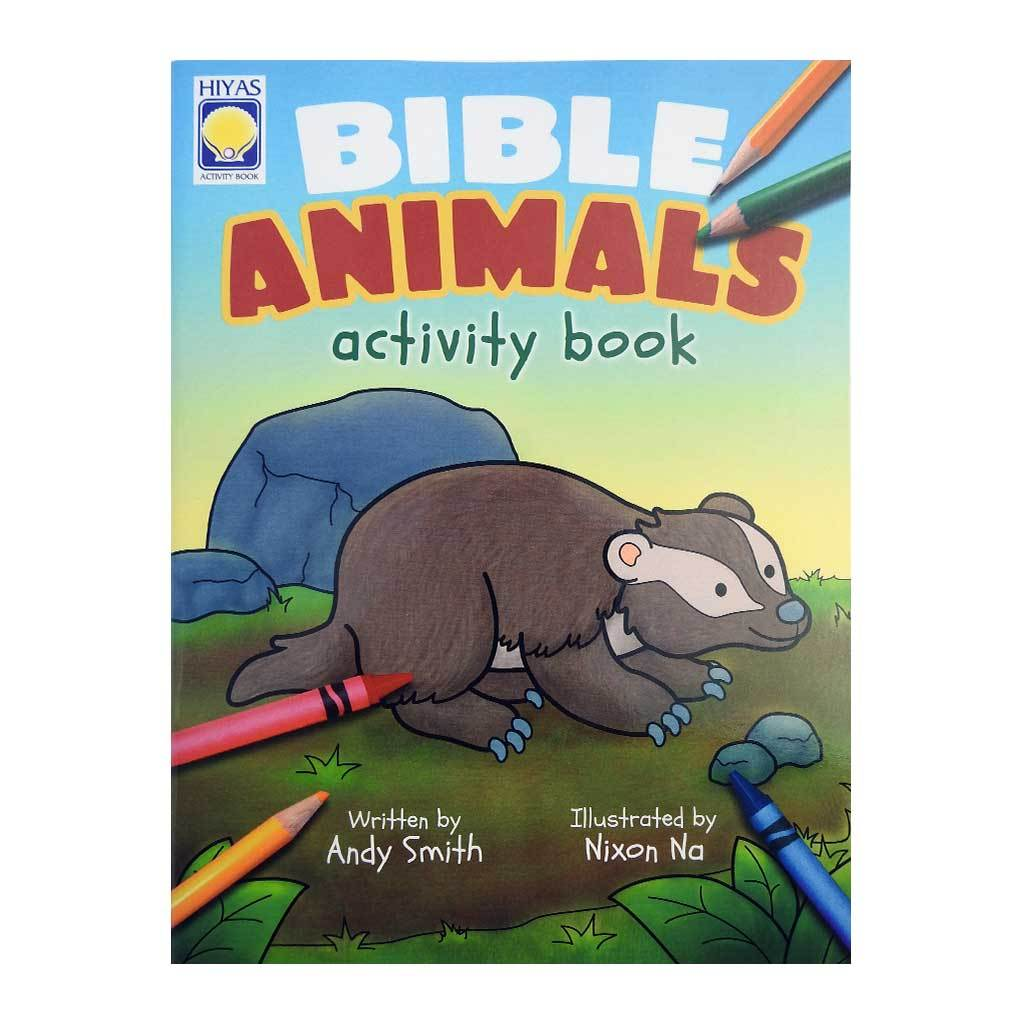 Bibles Animal Activity Book