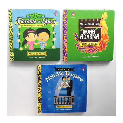 Bulilit Board Books by Tahanan (Filipino)