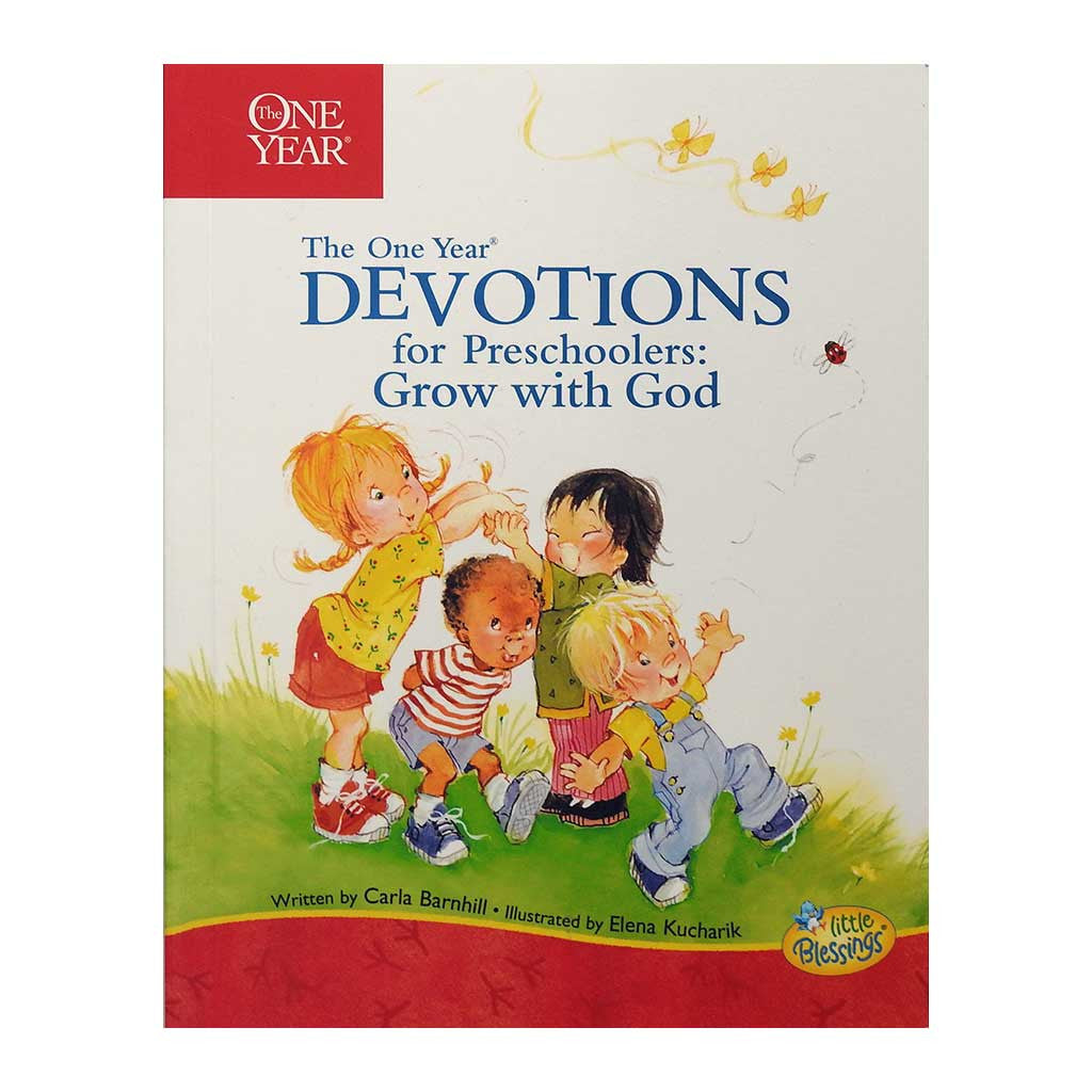 The One Year Devotions for Preschoolers: Grow with God