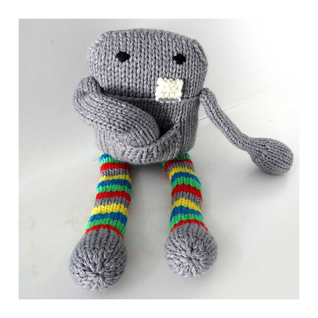 Floyd Hand Knit Monster