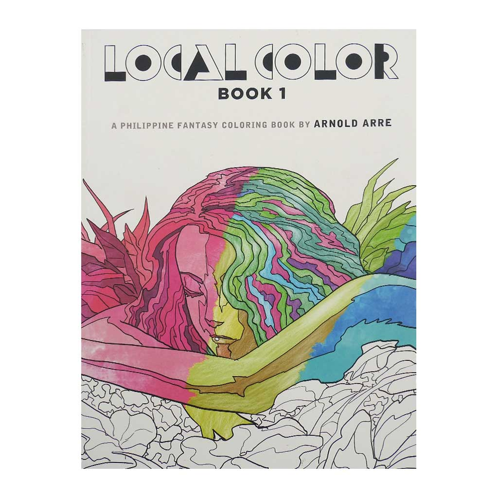 Local Color: A Philippine Fantasy Coloring Book