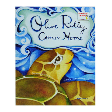 Olive Ridley Comes Home