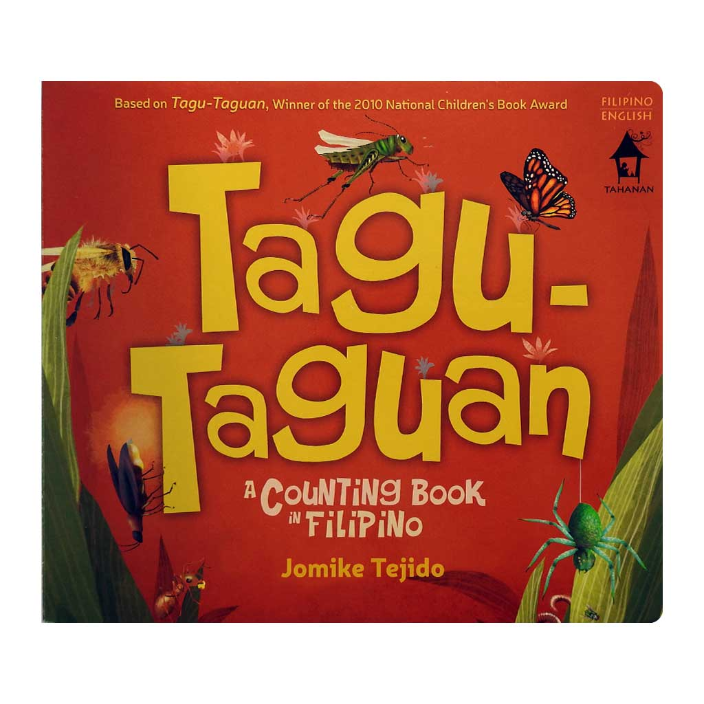 Tagu-Taguan A Counting Book in Filipino (BOARD BOOK)
