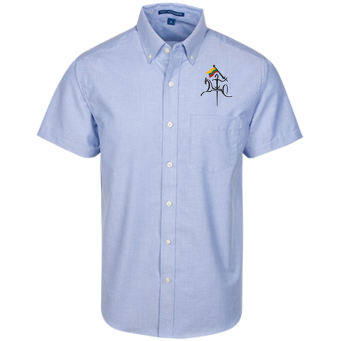 Vytis w/ Flag -- Guys Short Sleeve Oxford