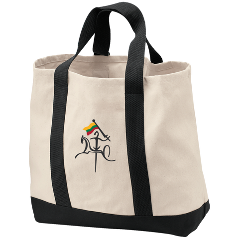 Vytis w/ Flag -- Shopping Tote Bag