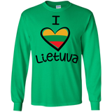 I Love Lietuva -- Guys Long Sleeve