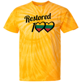 Restored 100 (100 Love) -- Vyrams Tie Dye T-Shirt