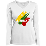 Lietuva BB -- Gals Performance V-Neck