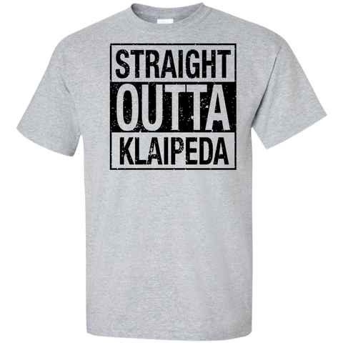 Outta Klaipeda -- Guys Tall T-Shirt