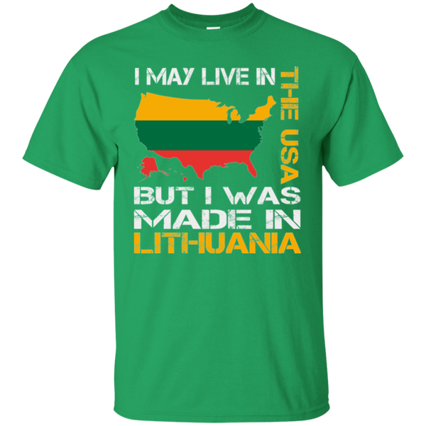 Made in Lithuania -- Guys T-Shirt