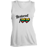 Restored 100 (Love) -- Moterims Sleeveless Moisture Absorbing V-Neck