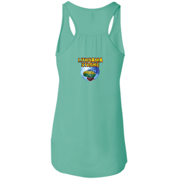 Outta Siauliai -- Bella+Canvas Juniors Girls Racerback Tank