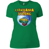 Lithuania Strong -- Gals Premium Boyfriend Tee