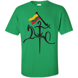 Vytis w/ Flag -- Guys T-Shirt