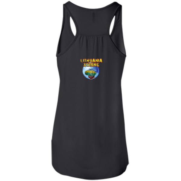 Lietuva BB -- Bella+Canvas Juniors Girls Racerback Tank