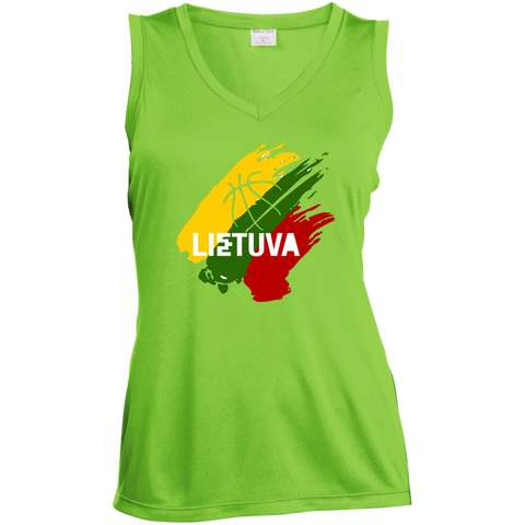 Lietuva BB -- Gals Performance Sleeveless V-Neck