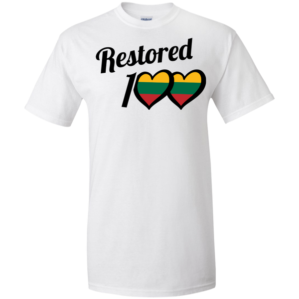 Restored 100 (100 Love) -- Vyrams Tall T-Shirt