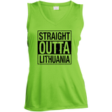Outta Lithuania -- Gals Performance Sleeveless V-Neck