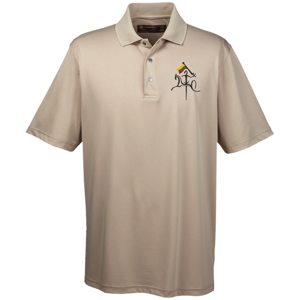 Vytis w/ Flag -- Guys Snap Placket Performance Polo