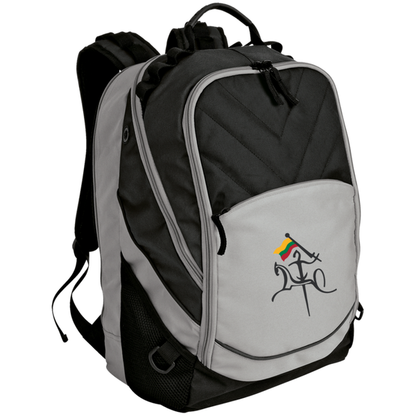 Vytis w/ Flag -- Laptop Computer Backpack