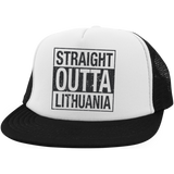 Outta Lithuania -- Trucker Hat with Snapback