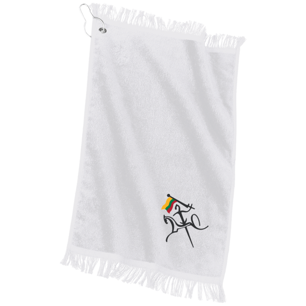 Vytis w/ Flag -- Grommeted Gym Towel