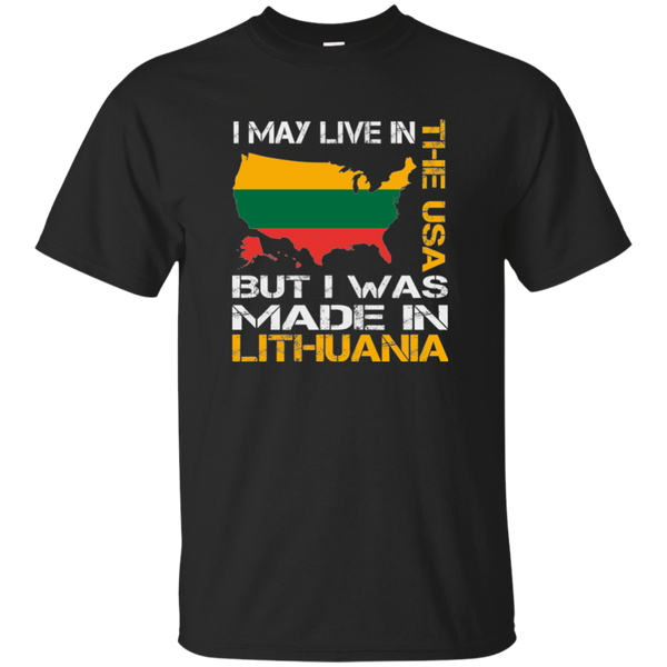 Made in Lithuania -- Youth Boys/Girls T-Shirt