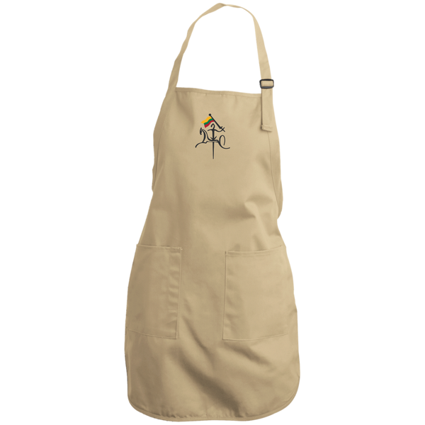 Vytis w/ Flag -- Full Length Apron