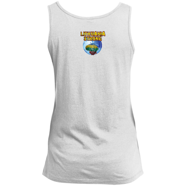 Outta Lithuania -- Gals Scoop Neck Tank