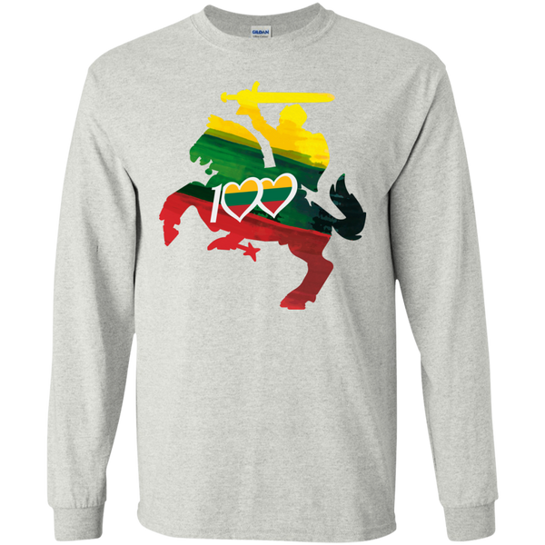 Restored 100 (Knight) -- Vyrams Long Sleeve T-Shirt