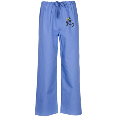Vytis w/ Flag -- Guys/Gals Scrubs Pants