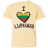 I Love Lietuva -- Youth Jersey Tee